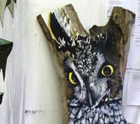 The Double Sided Great Horned Owl 2010, jason middlebrook