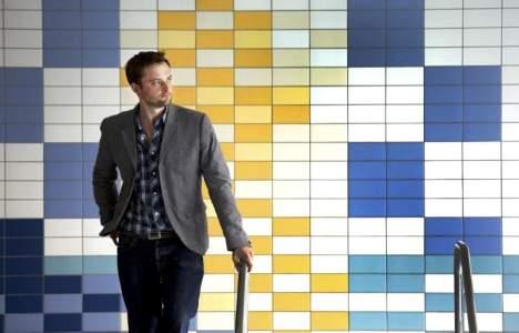 Zetterstrands kakelmosaik lillhagsbadet gävle tile mosaic