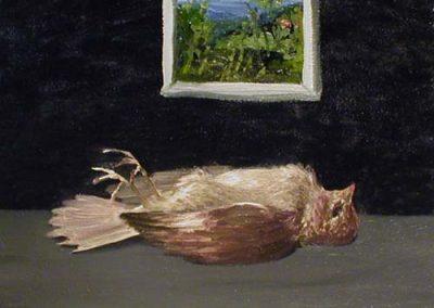 Död fågel