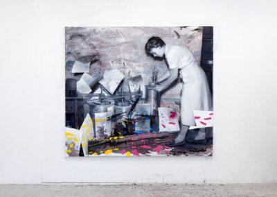 Broken Painting Machine